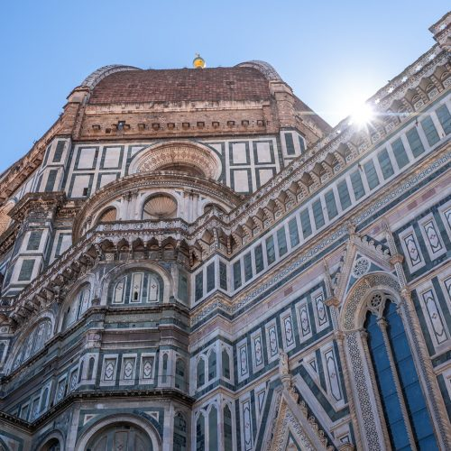 Duomo, - Cathedral Santa Maria del Fiore in Florence, Italy, one of main landmarks in Florence